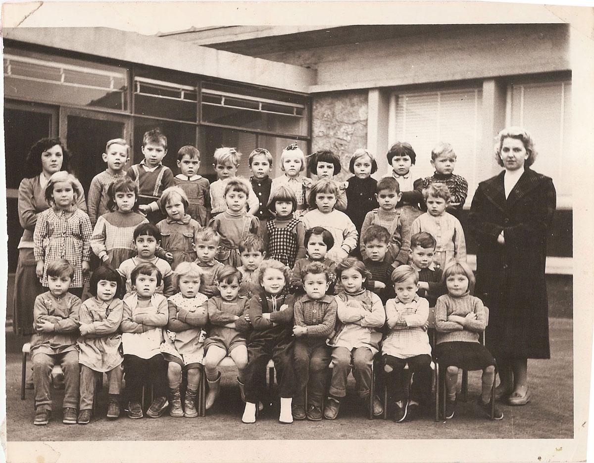 Ecole maternelle – à partir de 1956