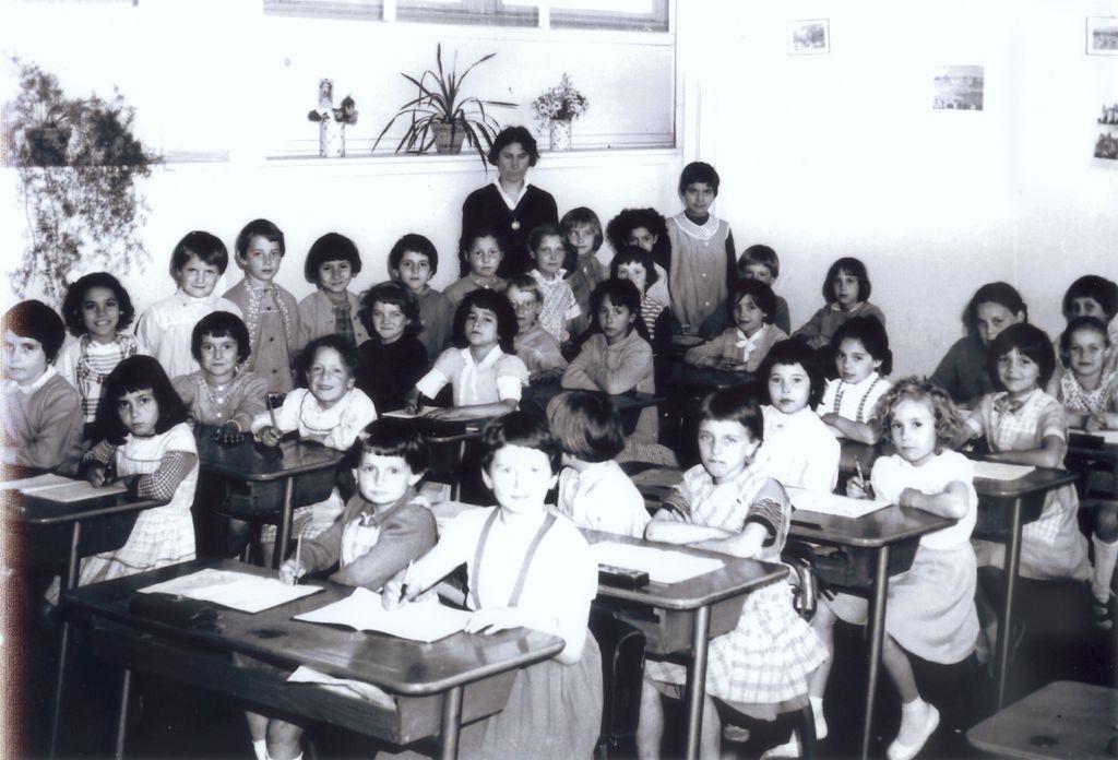 Ecole de filles – de 1956 à 1968