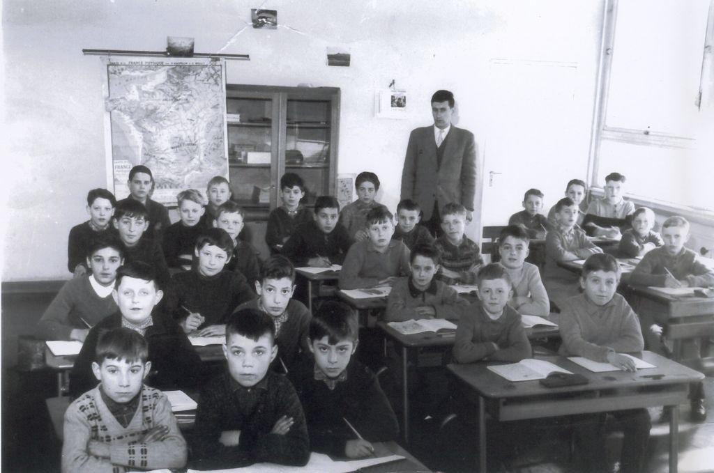 Ecole de garçon – de 1956 à 1968